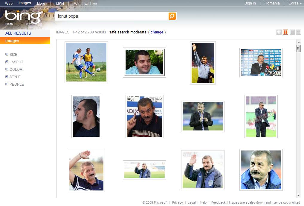 Bing stie de Ionut Popa