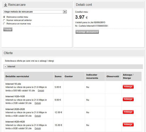 Cartela Vodafone e in categoria tepelor mici enervante