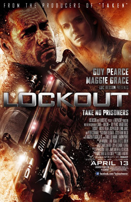 Lockout (2012) poster