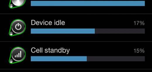 Autonomie Samsung Galaxy S3