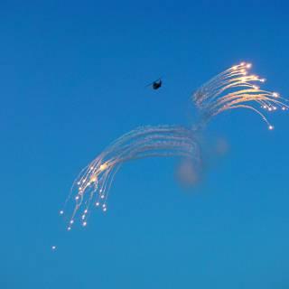 BIAS 2015 miting aviatic - elicopter PUMA lansand flares