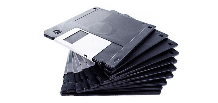 backup pe diskete