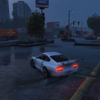 GTA 5 PC - Drift in ploaie
