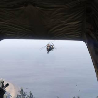 GTA 5 PC - Scapand de elicopterul urmaritor
