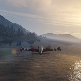 GTA 5 PC - Misiune cu avionul