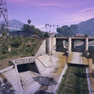 GTA 5 PC - Sistemul de canalizare din Los Santos