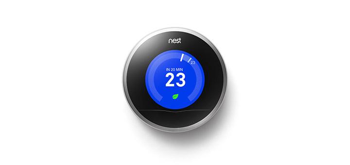termostat nest pentru case inteligente