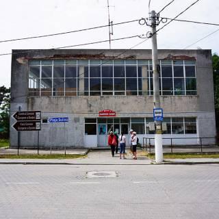 Excursie in Delta Dunarii - cladire comerciala in Sulina