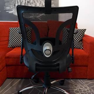 scaun de birou ergonomic off 910 vedere din spate