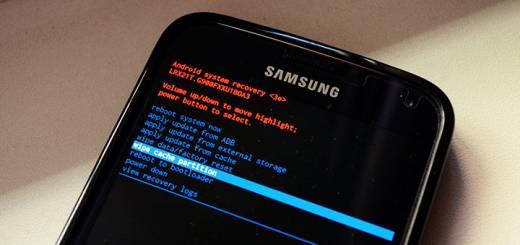 samsung galaxy s5 wipe cache partition