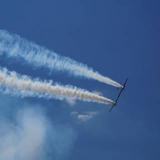 Clinceni Airshow 2015 miting aviatic - Acrobatic Yakers Iacarii Acrobati 2