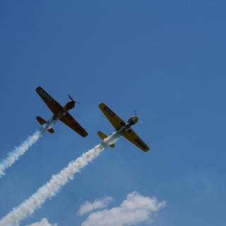 Clinceni Airshow 2015 miting aviatic - Acrobatic Yakers Iacarii Acrobati