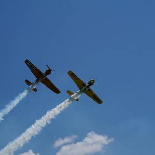 Clinceni Airshow 2015 miting aviatic - Acrobatic Yakers Iacarii Acrobati
