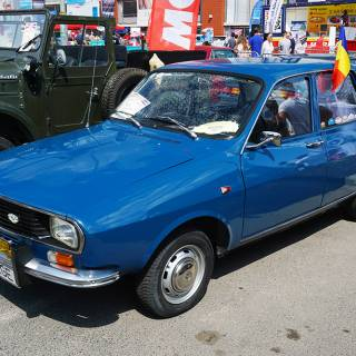 Retro American Muscle Cars - Dacia 1300