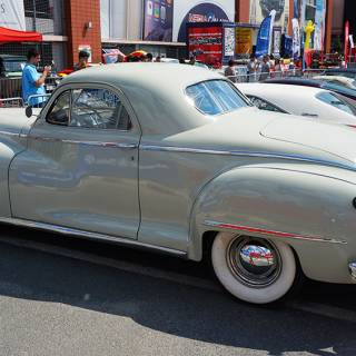 Retro American Muscle Cars - De Soto Coupe