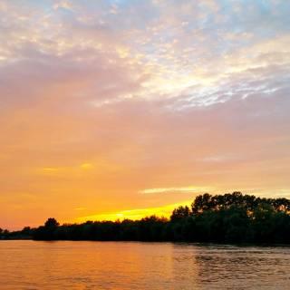 Excursie in Delta Dunarii - Apus de soare