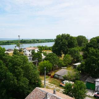 Excursie in Delta Dunarii - Canalul Sulina vazut din farul vechi