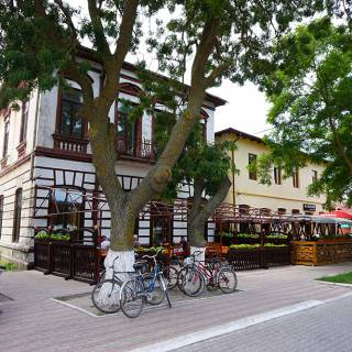 Excursie in Delta Dunarii - terase si biciclete in Sulina